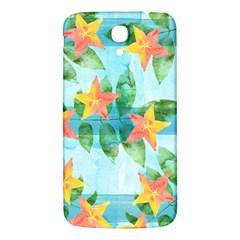 Tropical Starfruit Pattern Samsung Galaxy Mega I9200 Hardshell Back Case