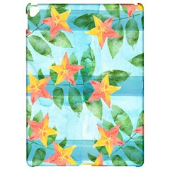 Tropical Starfruit Pattern Apple Ipad Pro 12 9   Hardshell Case