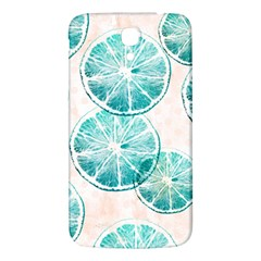Turquoise Citrus And Dots Samsung Galaxy Mega I9200 Hardshell Back Case