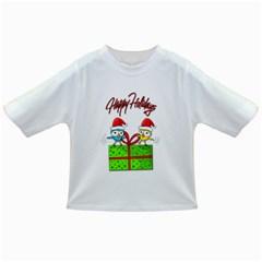 Cute Xmas birds Infant/Toddler T-Shirts