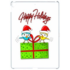 Cute Xmas birds Apple iPad Pro 12.9   Hardshell Case