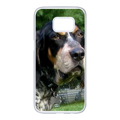 Bluetick Coonhound Samsung Galaxy S7 edge White Seamless Case