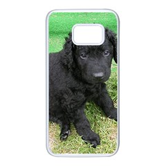 Curly Coated Retriever Puppy Samsung Galaxy S7 White Seamless Case