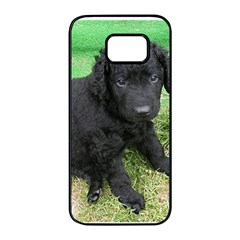 Curly Coated Retriever Puppy Samsung Galaxy S7 edge Black Seamless Case