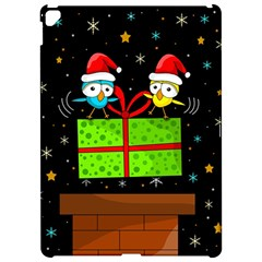 Cute Christmas birds Apple iPad Pro 12.9   Hardshell Case