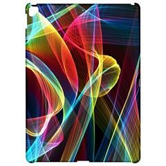 Rainbow Ribbon Background Apple iPad Pro 12.9   Hardshell Case