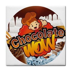 Chocolate Wow Tile Coasters