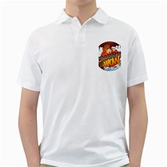 Chocolate Wow Golf Shirts