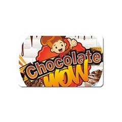 Chocolate Wow Magnet (name Card)