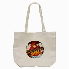 Chocolate Wow Tote Bag (cream)