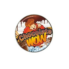 Chocolate Wow Hat Clip Ball Marker (10 Pack)