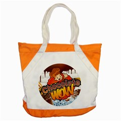 Chocolate Wow Accent Tote Bag