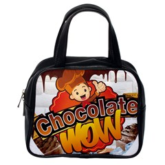 Chocolate Wow Classic Handbags (one Side)
