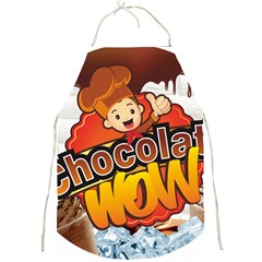 Chocolate Wow Full Print Aprons
