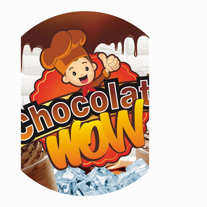 Chocolate Wow Small Garden Flag (Two Sides)