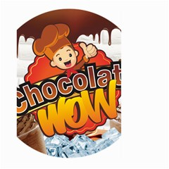 Chocolate Wow Large Garden Flag (two Sides)