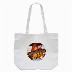 Chocolate Wow Tote Bag (white)