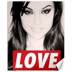 Sasha Grey Love Canvas 16  X 20