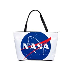 Nasa Logo Shoulder Handbags