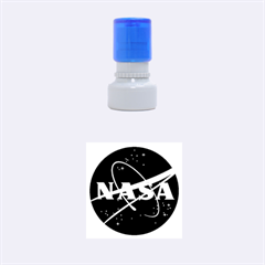 Nasa Logo Rubber Round Stamps (small)