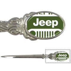 Only In A Jeep Logo Letter Openers