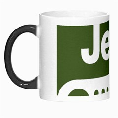 Only In A Jeep Logo Morph Mugs