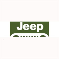 Only In A Jeep Logo Large Bar Mats