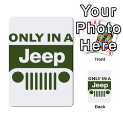 Only In A Jeep Logo Multi-purpose Cards (Rectangle)