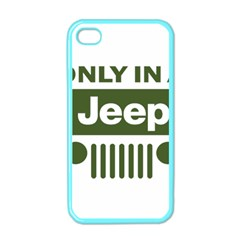 Only In A Jeep Logo Apple Iphone 4 Case (color)