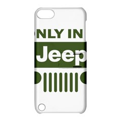 Only In A Jeep Logo Apple Ipod Touch 5 Hardshell Case With Stand
