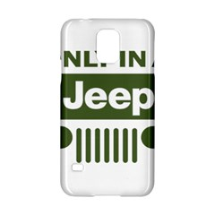 Only In A Jeep Logo Samsung Galaxy S5 Hardshell Case