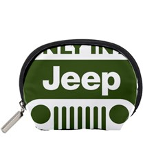 Only In A Jeep Logo Accessory Pouches (small)
