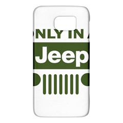 Only In A Jeep Logo Galaxy S6