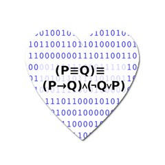 Logic Eqn Heart Magnet