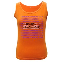 Logic Eqn Women s Dark Tank Top