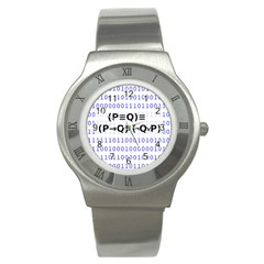 Logic Eqn Stainless Steel Watch
