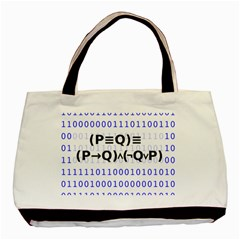 Logic Eqn Basic Tote Bag