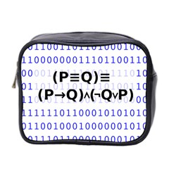 Logic Eqn Mini Toiletries Bag 2 Side