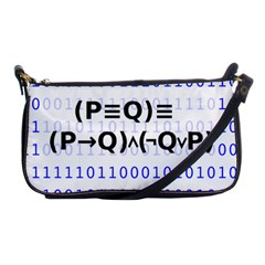 Logic Eqn Shoulder Clutch Bags