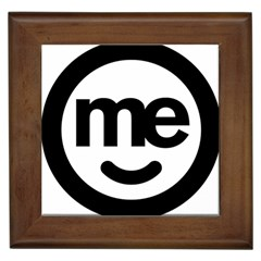 Me Logo Framed Tiles