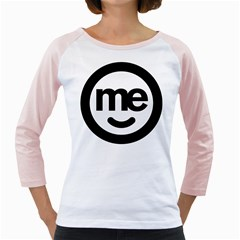 Me Logo Girly Raglans