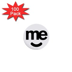 Me Logo 1  Mini Buttons (100 Pack)