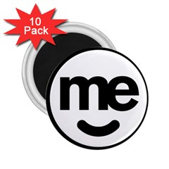 Me Logo 2 25  Magnets (10 Pack)