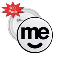 Me Logo 2 25  Buttons (100 Pack)
