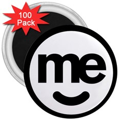 Me Logo 3  Magnets (100 Pack)
