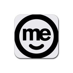 Me Logo Rubber Coaster (square)