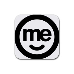 Me Logo Rubber Square Coaster (4 Pack)