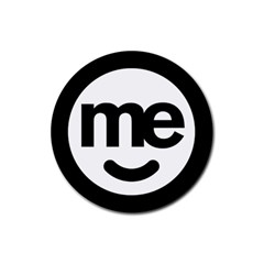Me Logo Rubber Round Coaster (4 Pack)