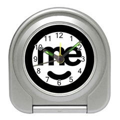 Me Logo Travel Alarm Clocks
