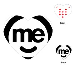 Me Logo Playing Cards (heart)